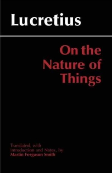 On the Nature of Things, Paperback Book