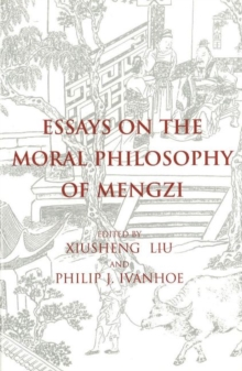 Essays on the Moral Philosophy of Mengzi, Paperback Book