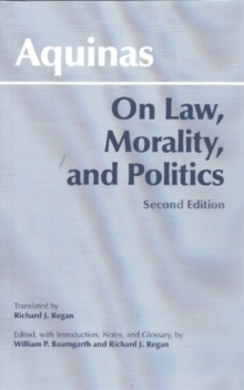On Law, Morality, and Politics, Paperback / softback Book