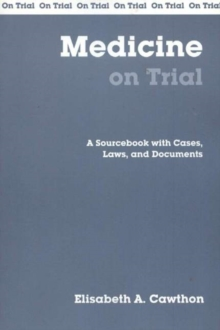 Medicine On Trial, Paperback / softback Book