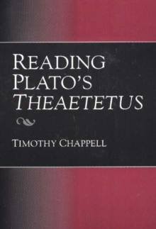 Reading Plato's Theaetetus, Paperback / softback Book