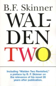 Walden Two, Hardback Book