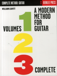 Modern Method for Guitar : Volumes 1, 2, 3 Complete, Paperback / softback Book