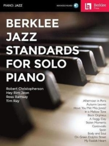 BERKLEE JAZZ STANDARDS FOR SOLO PIANO,  Book