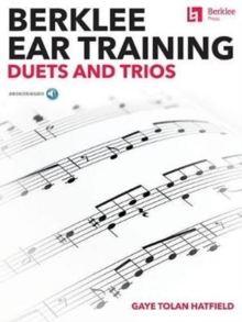 BERKLEE EAR TRAINING DUETS & TRIOS, Paperback Book