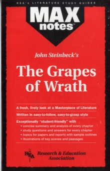 "John Steinbeck's ""Grapes of Wrath"", Paperback Book"
