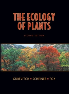 Ecology of Plants, Hardback Book