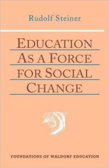 Education as a Force for Social Change, Paperback / softback Book