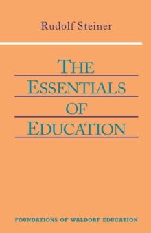 The Essentials of Education, Paperback Book