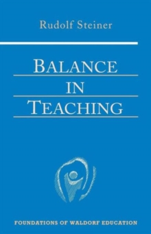 Balance in Teaching, Paperback / softback Book