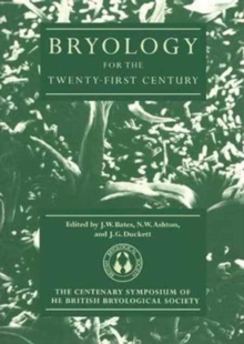 Bryology for the Twenty-first Century, Paperback Book