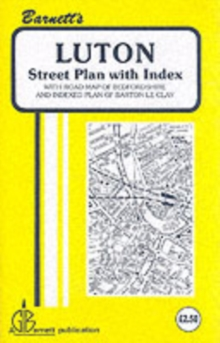 Luton, Sheet map, folded Book