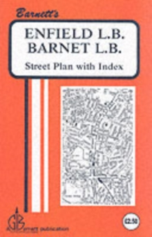 Enfield : Barnet, Sheet map, folded Book