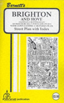 Brighton : Hove / Shoreham, Sheet map, folded Book