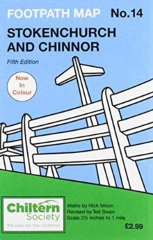 Chiltern Society Footpath Map No.14 : Stokenchurch and Chinnor, Sheet map, folded Book