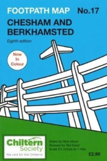 Footpath Map No. 17 Chesham and Berkhamsted, Paperback / softback Book