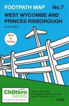 Map 7 Footpath Map No. 7 West Wycombe and Princes Risborough : Ninth Edition, Paperback Book