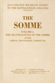 SOMME VOL 2 SECOND BATTLE OF THE SOMME, Paperback Book