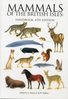 Mammals of the British Isles : Handbook, Hardback Book