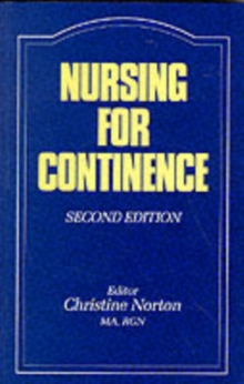 Nursing for Continence, Paperback Book