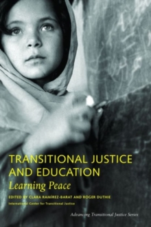 Transitional Justice and Education - Learning Peace, Paperback / softback Book