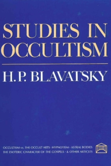 Studies in Occultism, Paperback Book