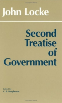 Second Treatise of Government, Hardback Book