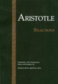 Aristotle: Selections, Paperback Book