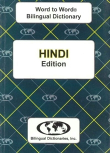 English-Hindi & Hindi-English Word-to-Word Dictionary, Paperback / softback Book