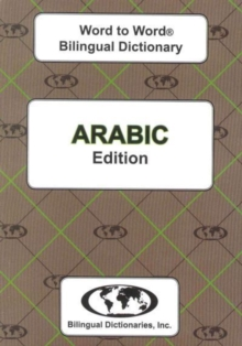 English-Arabic & Arabic-English Word-to-Word Dictionary, Paperback / softback Book