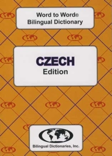 English-Czech & Czech-English Word-to-Word Dictionary, Paperback / softback Book