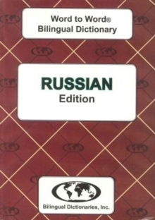 English-Russian & Russian-English Word-to-Word Dictionary : Suitable for Exams, Paperback Book