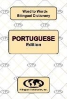 English-Portuguese & Portuguese-English Word-to-Word Dictionary, Paperback / softback Book