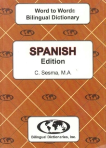 English-Spanish & Spanish-English Word-to-Word Dictionary, Paperback / softback Book