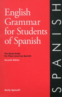 English Grammar for Students of Spanish - 5th Edition, Paperback Book