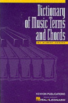 DeVito : Dictionary Of Music Terms And Chords, Paperback / softback Book