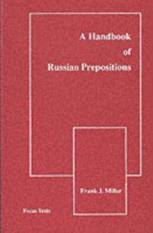 Handbook of Russian Prepositions, Paperback / softback Book