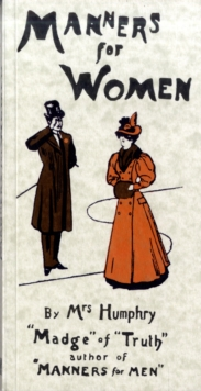 Manners for Women, Paperback Book