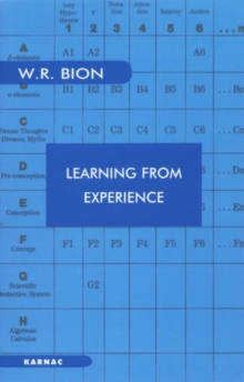 Learning from Experience, Paperback Book