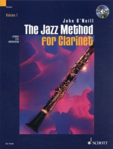 Jazz Method for Clarinet, Mixed media product Book