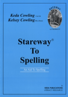 Stareway to Spelling : A Manual for Reading and Spelling High Frequency Words, Paperback / softback Book