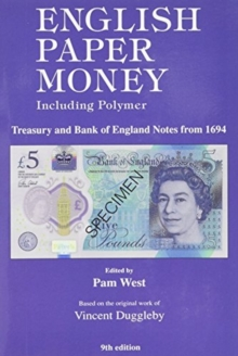ENGLISH PAPER MONEY  9TH EDITION, Paperback Book
