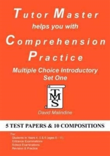 Tutor Master Helps You with Comprehension Practice - Multiple Choice Introductory Set One, Paperback Book