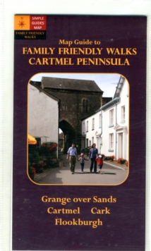 Family-Friendly Walks Cartmel Peninsula. Map Guide, Sheet map, folded Book