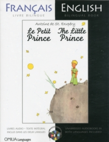 The Little Prince : French/English bilingual edition with CD, Mixed media product Book