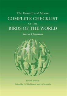The Howard and Moore Complete Checklist of the Birds of the World : Passerines Volume 2, Mixed media product Book