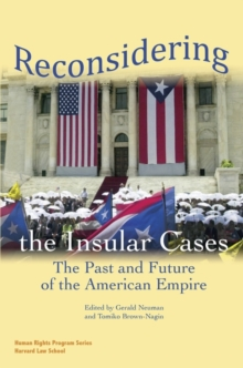 Reconsidering the Insular Cases, Paperback / softback Book