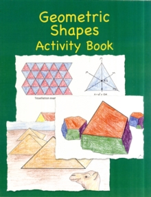 Geometric Shapes Activity Book, Paperback Book