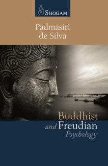 Buddhist and Freudian Psychology, Paperback Book