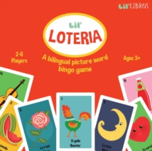 Lil' Loteria: A Bilingual Picture Word B, Kit Book